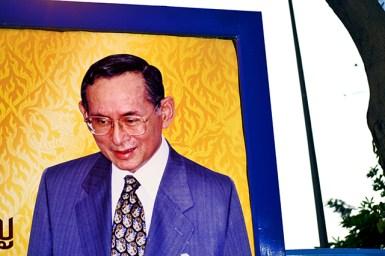 Rama IX Bhumibol retrato
