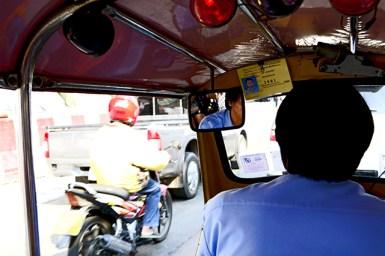 Tuk-tuk Bangkok Tailandia