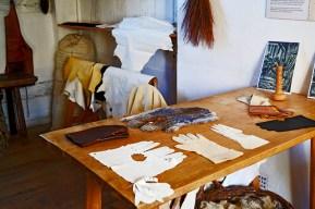 Escritorio guantes casa natal Shakespeare Stratford-Apon-Avon