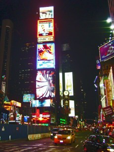 Time Square and great lights