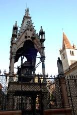 Tumba de Scaligeri centro histórico Verona