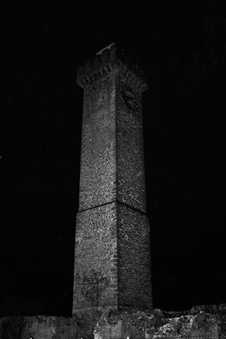 Torre de Mangana coronando la parte alta