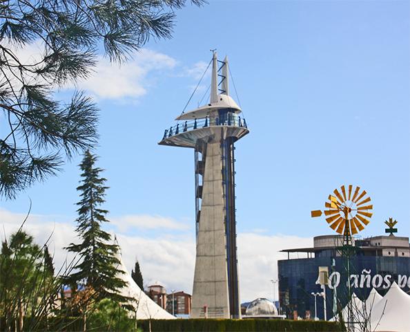 Torre observación Parque de las Ciencias Granada