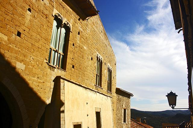 Palacio piedra ventanas Morella Castellón