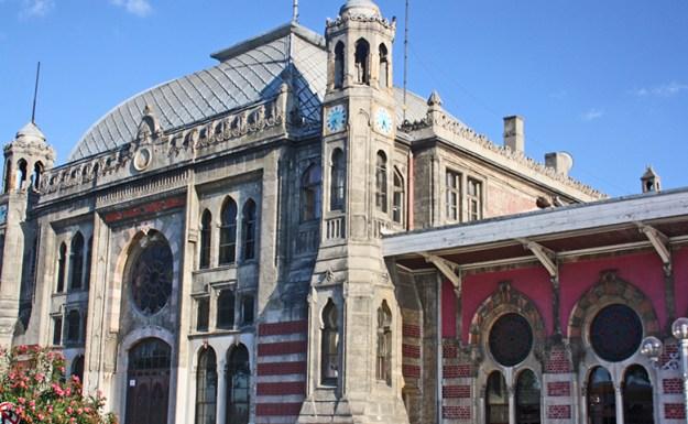 Fachada estación tren Orient Express Estambul