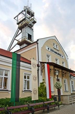 Fachada entrada Minas sal Wieliczka Cracovia