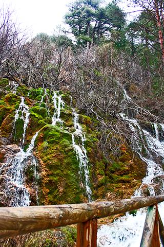 Cascada Alto Tajo parque natural Cuenca