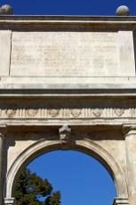 Arco de triunfo decoración Padua