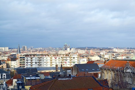 Panorámica ciudad alta Bruselas