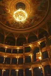 Interior lámpara Teatro de la Ópera Budapest
