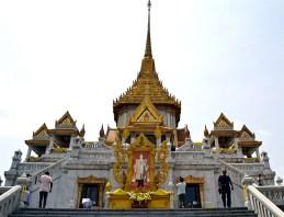 Pagoda templo Buda de oro Bangkok
