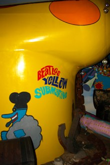 Beatles Yellow Submarine Liverpool
