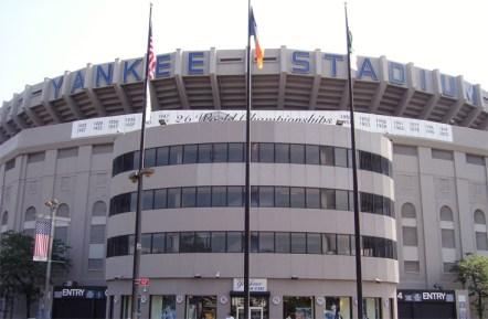 Fachada estadio New York Yankees béisbol Nueva York