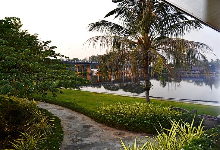 Good Times Resort jardines río Kwae Kanchanaburi