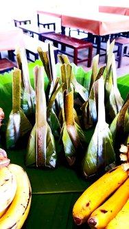Hoja de plátano Lampang Tailandia