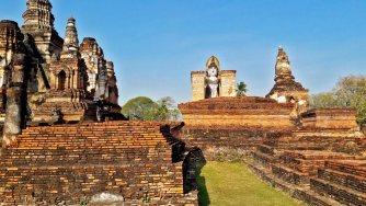 Buda Phra Attharot Parque Histórico Sukhothai