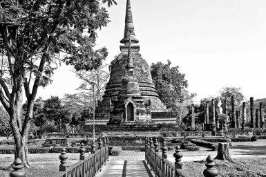 Wat Chana Songkhram Sukhothai Tailandia