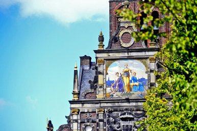Pintura al fresco torre Waaggebouw