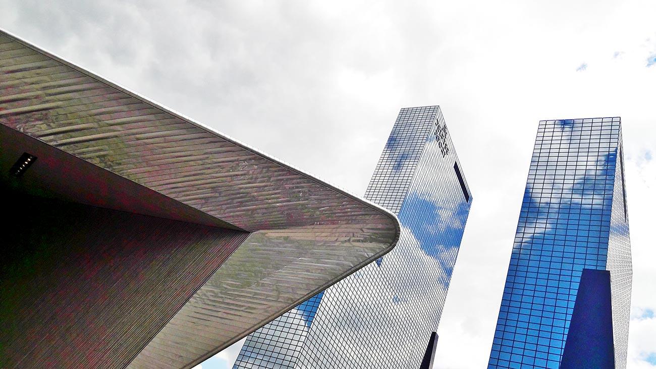 Rascacielos Estación Central Rotterdam