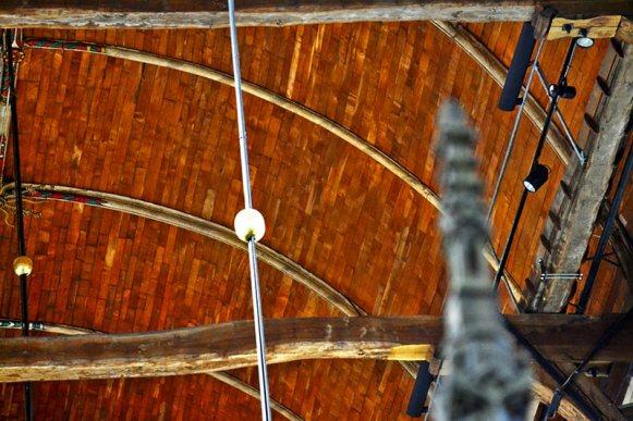 Grote Kerk Alkmaar péndulo techo
