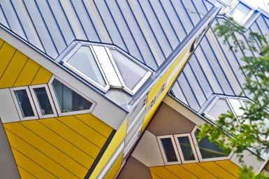 Casas cubo arquitectura centro Rotterdam