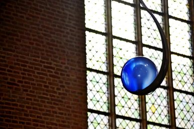 Esfera azul Grote Kerk Alkmaar