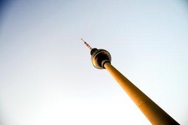 Torre de la Televisión Fernsehturm Berlín Alemania