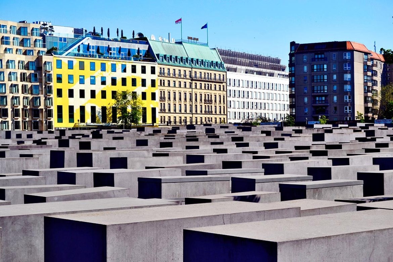 Monumento Holocausto judíos Peter Eisenmann centro histórico