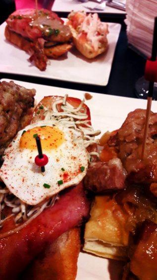 Selección pinchos productos primera calidad restaurante gastro bar Teruel