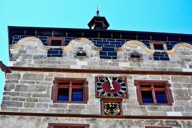 Contrapicado torre reloj centro Rottweil