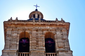 Picado campanas torre Catedral Ciudad Rodrigo Salamanca