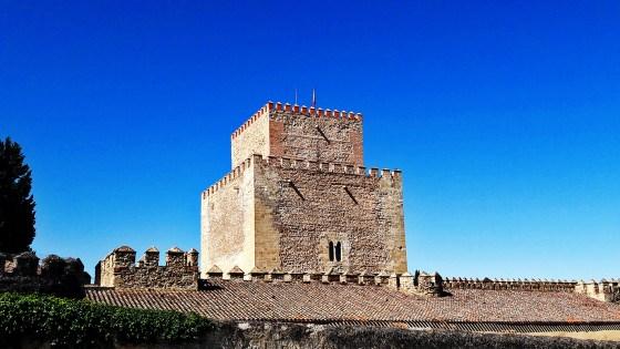 Torre castillo Parador Nacional Ciudad Rodrigo Salamanca