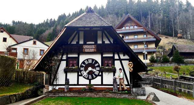 Fachada Reloj Cuco de Schonach Triberg Selva Negra Alemania