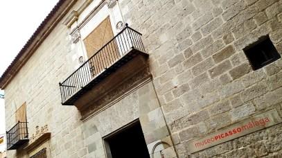 Fachada Museo Casa Natal de Pablo Ruiz Picasso imagen inclinada