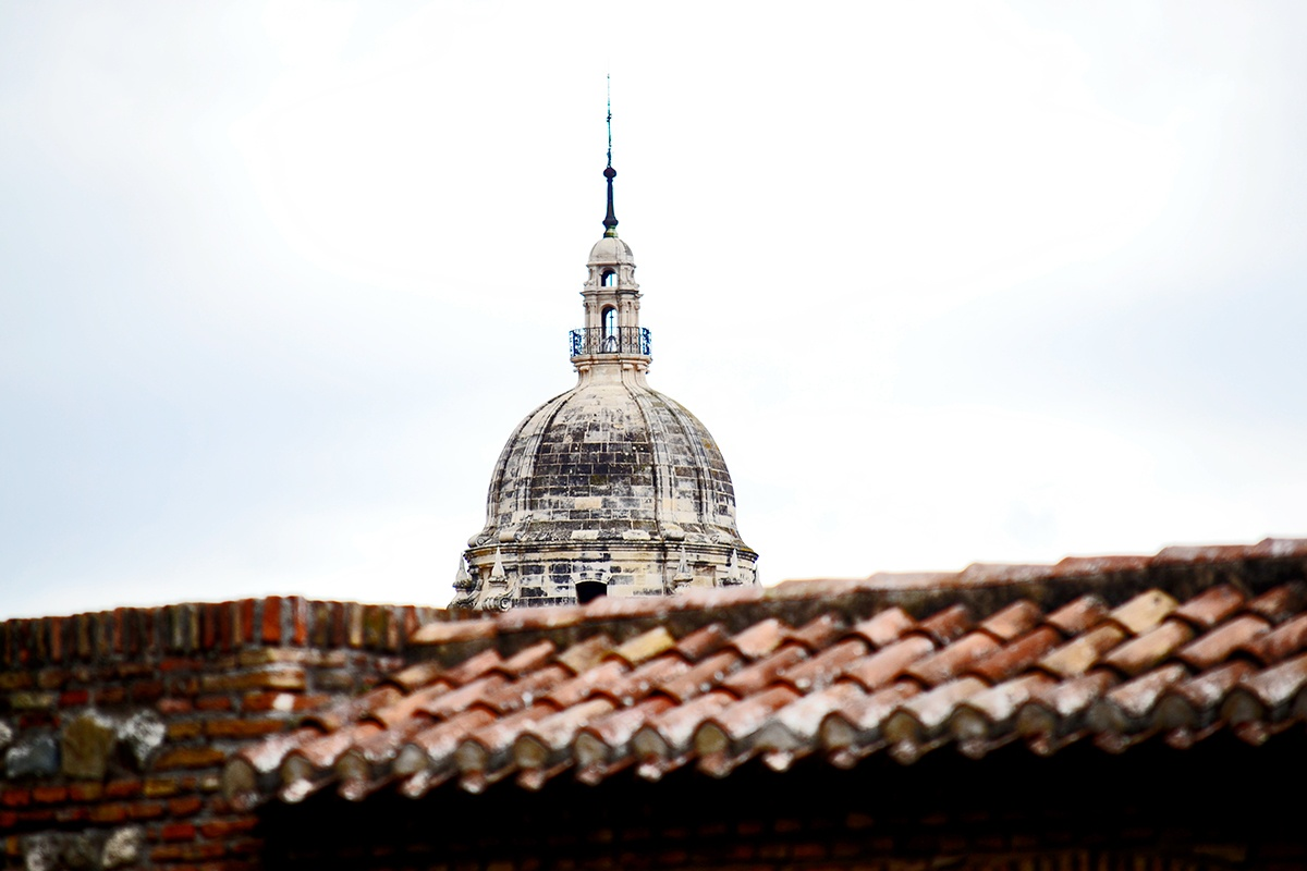Panorámica cúpula Catedral de Santa María de la Encarnación Málaga imagen