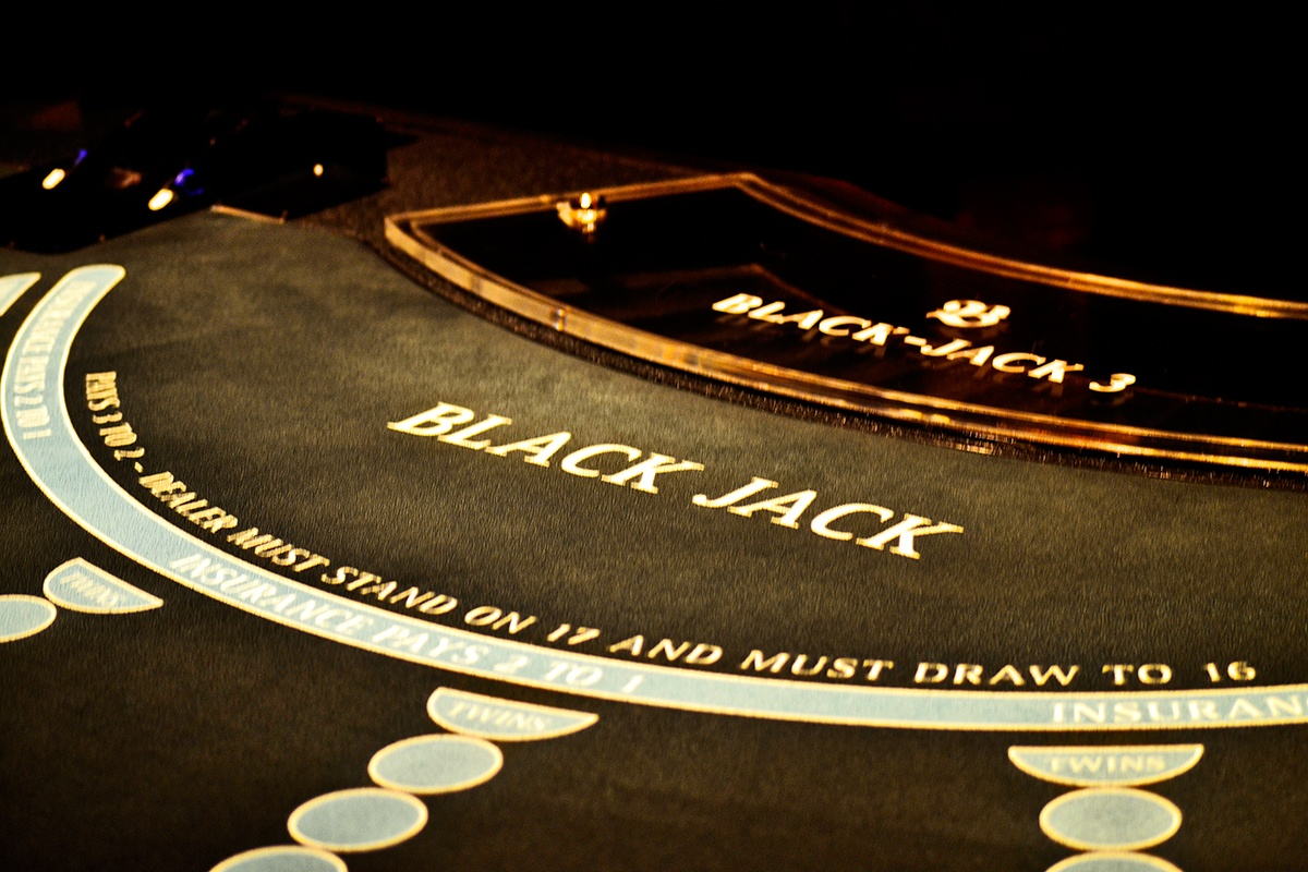 Tablero blackjack Kurhaus Casino Baden-Baden Alemania
