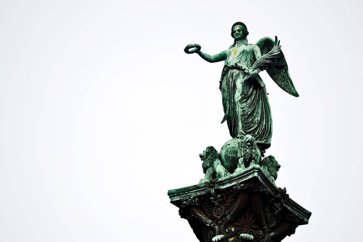 Escultura Schlossplatz Stuttgart