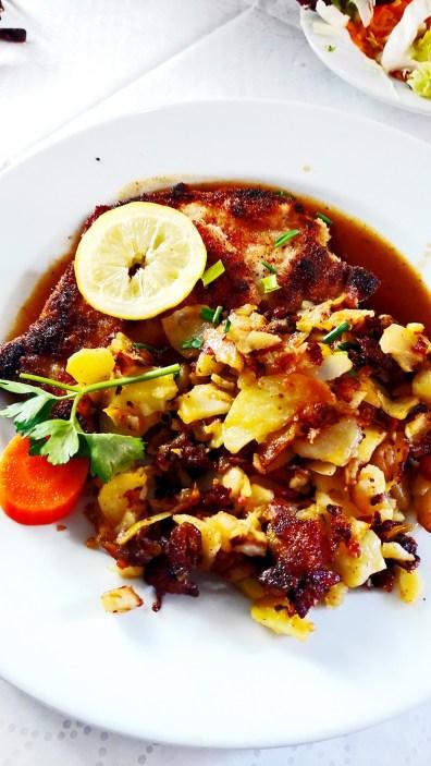 Comida típica patata Selva Negra Alemania