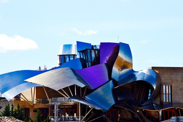 Bodega Marqués de Riscal Frank O Gehry Elciego