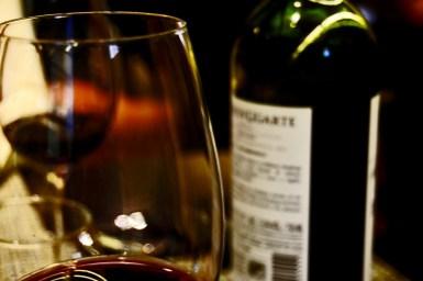 Copa vino Rioja Alavesa Elciego
