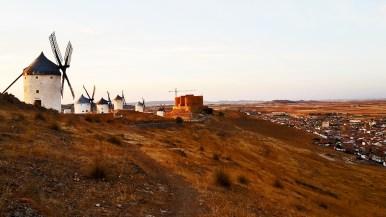 Sucesión molinos Consuegra cerro Toledo