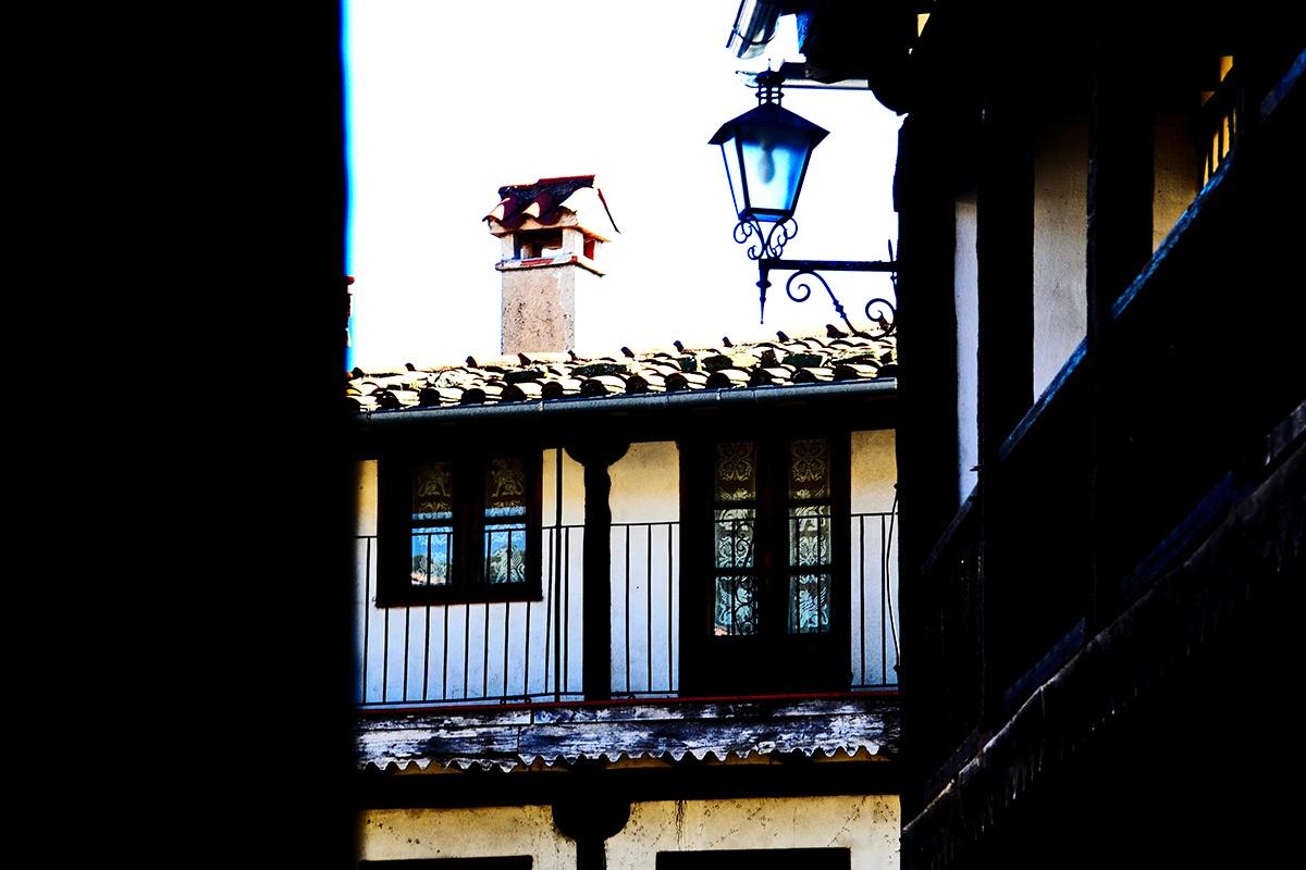 Balcón calle tradicional La Alberca