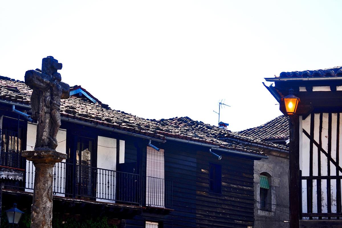 Cruz Plaza Mayor La Alberca Salamanca