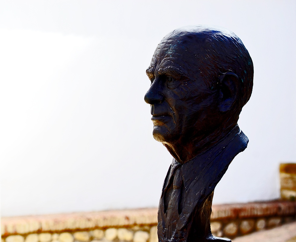 Busto Michael Hoskin Antequera Málaga