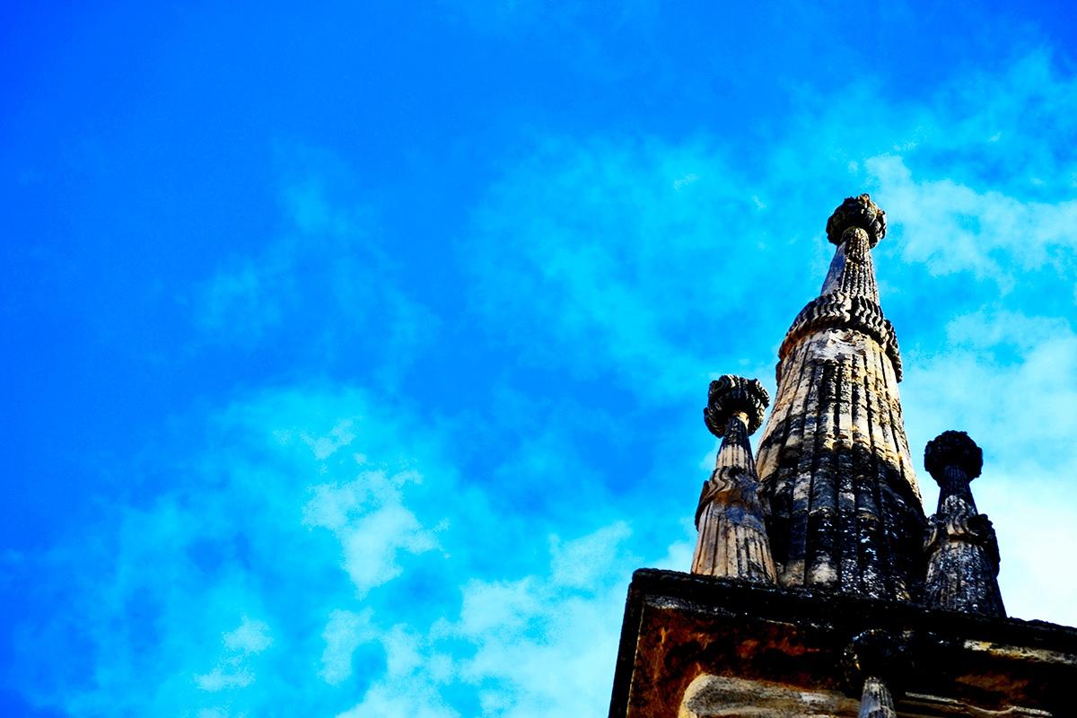Decoración mazorca piedra cielo Antequera