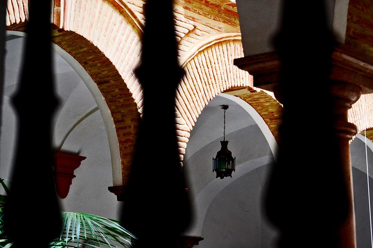 Interior patio árabe andaluz Antequera