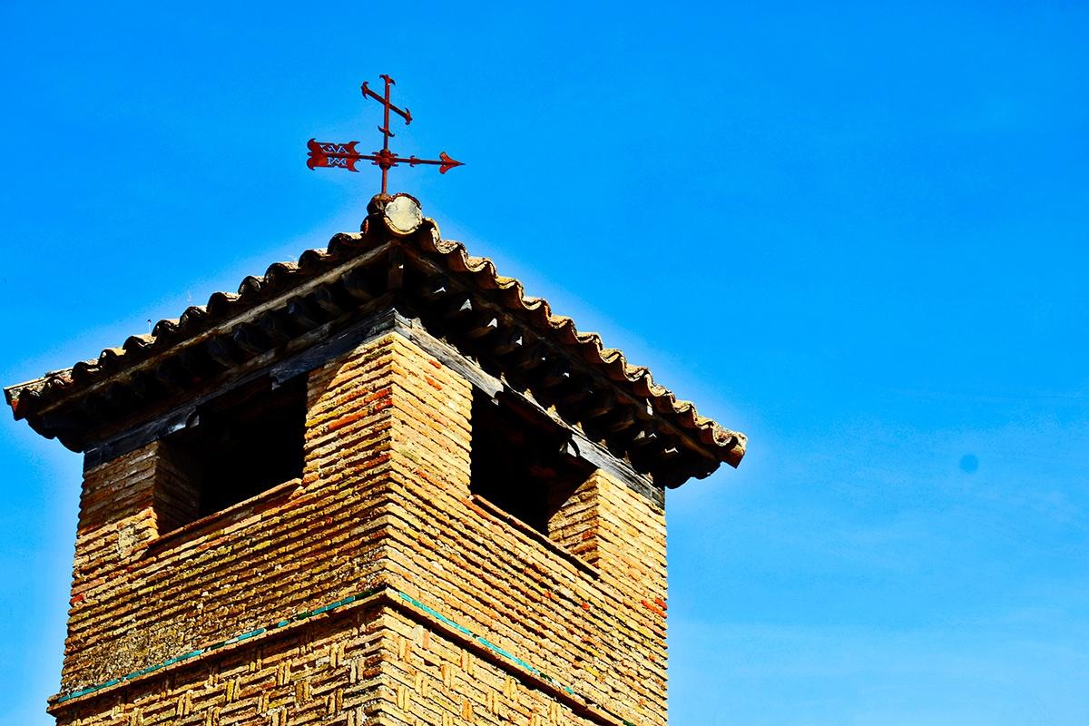 Veleta torre ladrillo construcción Ronda