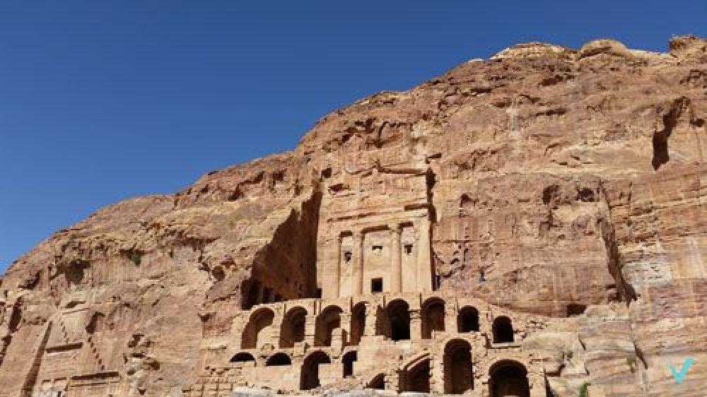 tumba de la urna Petra viajes 3en1