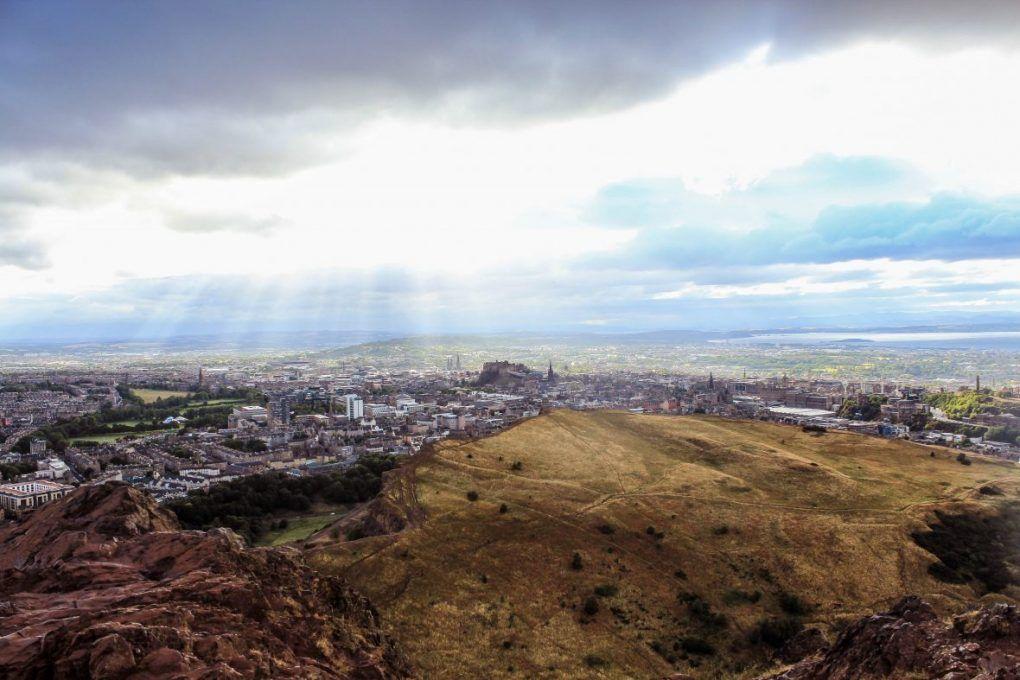 Arthur´s seat Edimburgo