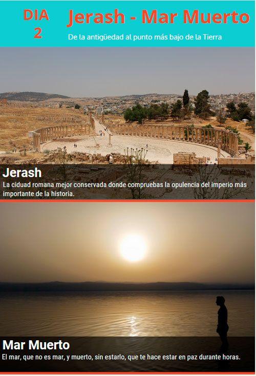 jerash y mar muerto